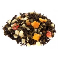 Thé noir, Mangue fruits de la passion - thé noir Alveus