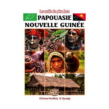 Café de la Papouasie Nouvelle Guinée